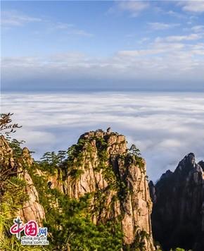 Прекрасные осенние пейзажи горы Хуаншань