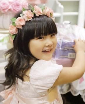 Фото: День рождения 5-летней красавицы Ван Шилин