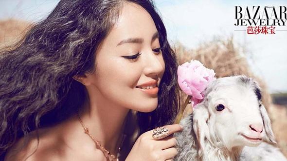 Очаровательная красавица Дун Сюань