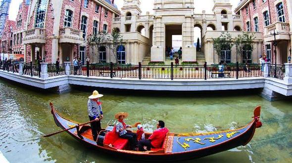 В городе Далянь строится «Восточная Венеция»