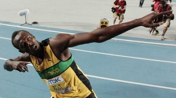 Победные жесты спортсменов