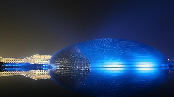 Ландшафтное освещение в Пекине во время саммита АТЭС будет осуществляться как во время важных праздников