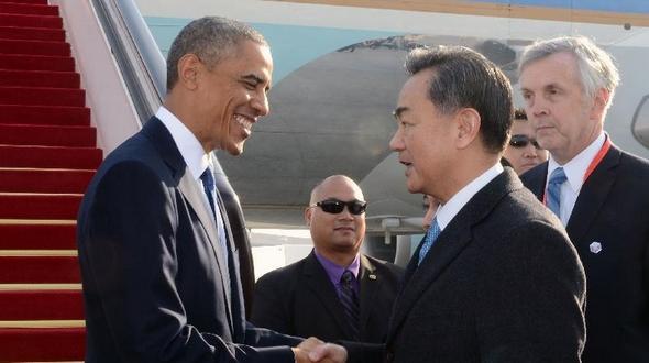 Барак Обама прибыл в Пекин