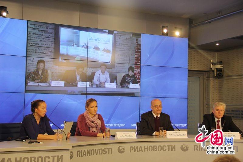Видеомост Москва-Пекин: «От форума АТЭС до встречи на саммите G20»