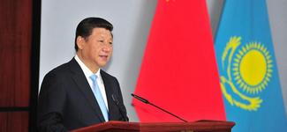 Китаю и Казахстану нужно создать 'экономический коридор Шелкового пути' -- председатель КНР Си Цзиньпин