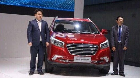 Новый автомобиль компании Hawtaimotor ?Newsantafe? начали продавать по минимальной цене 101,8 тыс. юаней