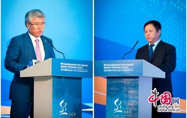 Торжественно открыт Международный культурный форум Шелкового пути в Национальном музее Казахстана