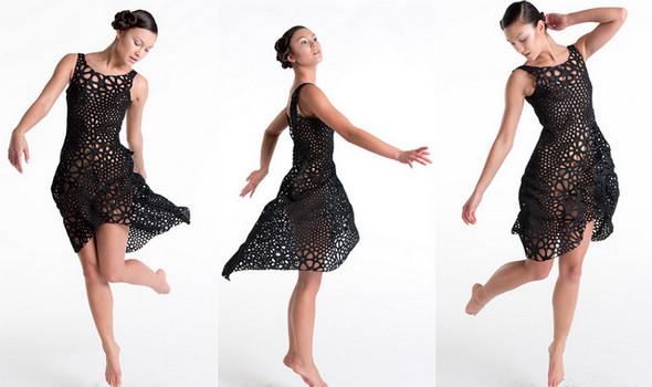 Новый прорыв в технологии 3D-печати – одежда из пластика как из ткани