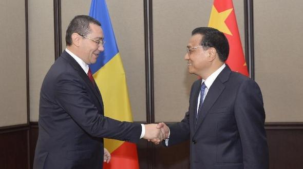 Ли Кэцян провел переговоры с премьер-министром Румынии