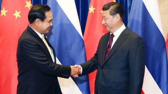 Си Цзиньпин встретился с премьер-министром Таиланда