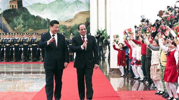 Си Цзиньпин и А. Ф. ас-Сиси договорились об установлении всестороннего стратегического партнерства между КНР и Египтом
