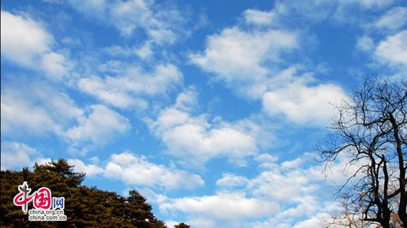 В горах Хуаншань: облака и снег взамодополняют красоту друг друга