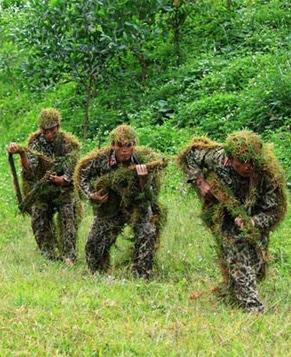 Уморительная маскировка солдат из разных стран