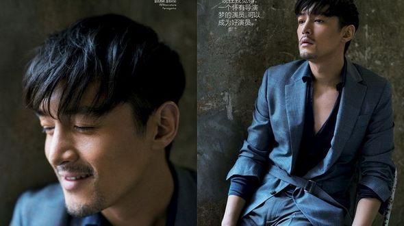 Стильный актер Ху Гэ