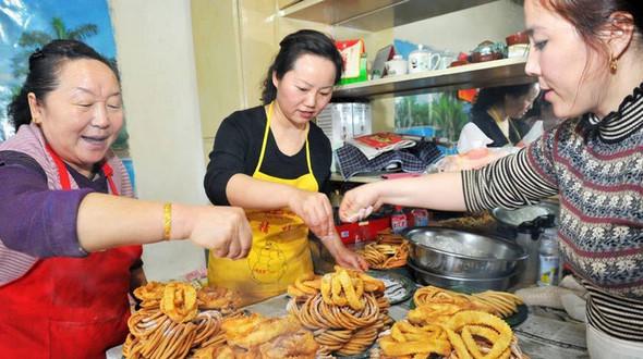Район Хами, Синьцзян: традиционные новогодние кушанья