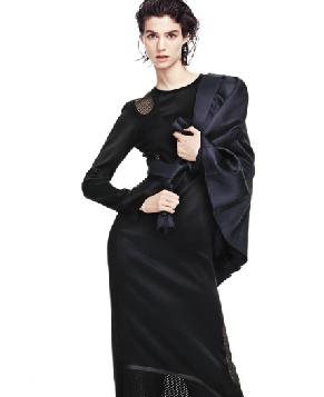 Супермодель Manon Leloup на обложке модного журнала
