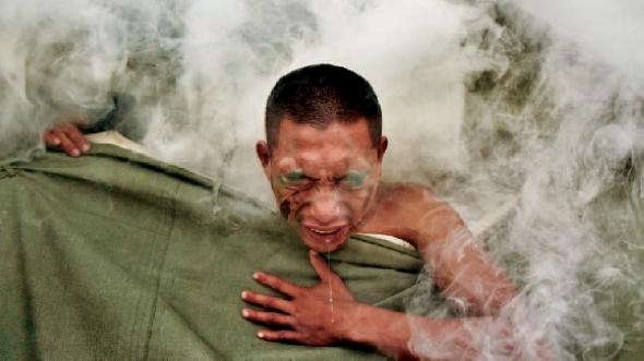 Фотографии с учений солдат ВДВ НОАК