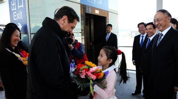 В Пекин прибыл председатель Оценочной комиссии МОК Александр Жуков