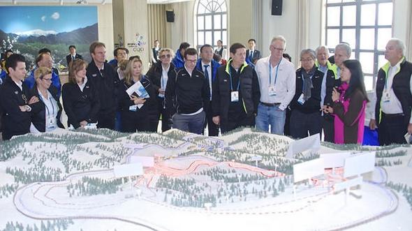 Проведение инспекции оценочной комиссии Международного олимпийского комитета на спортивных объектах в уезде Яньцин, Пекин