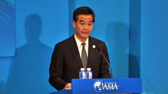 Лян Чжэньин: Сянган будет играть важную роль в рамках стратегии 'один пояс, один путь'