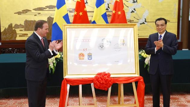 Ли Кэцян провел переговоры с премьер-министром Швеции