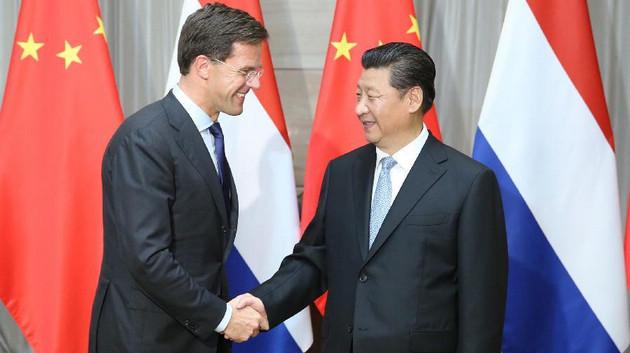 Председатель КНР Си Цзиньпин встретился с премьер-министром Нидерландов