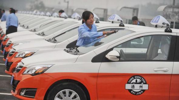 Число электротакси в Пекине за 3 года выросло в 20 раз