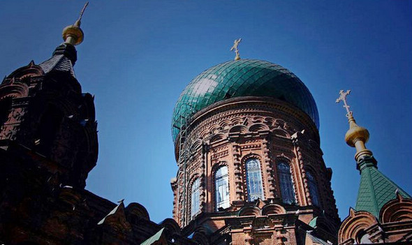 Софийский собор в Харбине (18 фото)