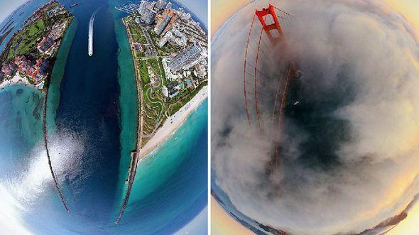 Сказочные 3D-панорамы известных городов мира