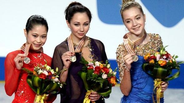Золото и бронза российских фигуристок на Чемпионате мира в Шанхае