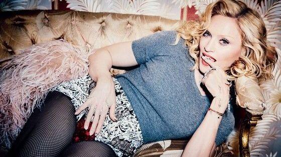 Сексуальная Мадонна попала на обложку модного журнала