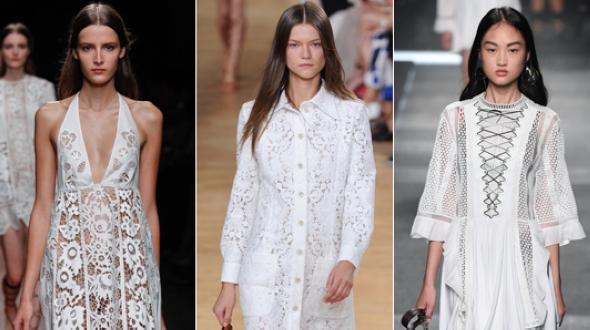 Соблазнительные белые платья