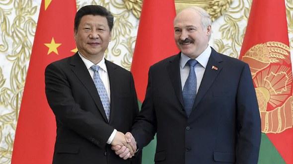 Си Цзиньпин провел переговоры с президентом Беларуси Александром Лукашенко
