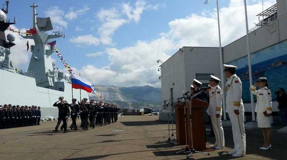 Стартовали китайско-российские учения ?Морское взаимодействие 2015?