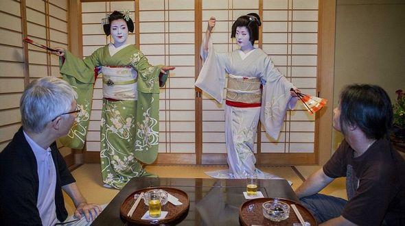 Традиция японских гейш в современной жизни