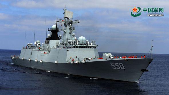 Корабли КНР и РФ прибыли в акваторию учений 'Морское взаимодействие- 2015' и сформировали совместную группировку