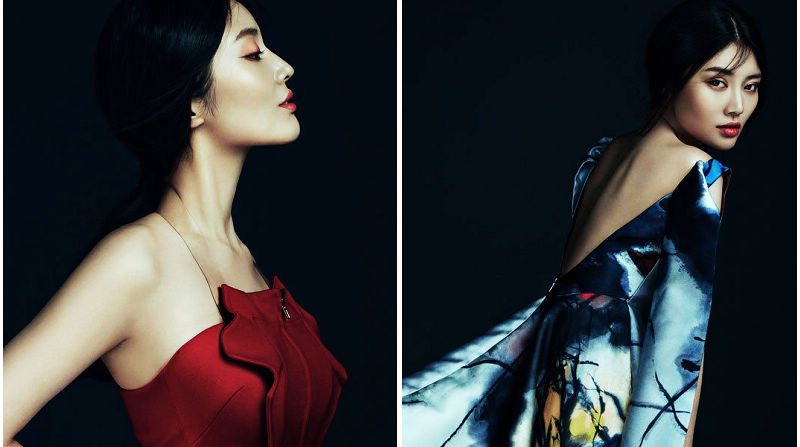 Модные снимки красавицы Сюй Дундун