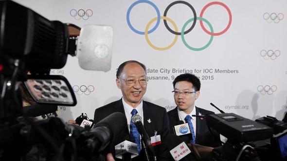 Лю Пэн: Олимпийский комитет Китая всемерно поддерживает заявку Пекина на проведение Олимпиады