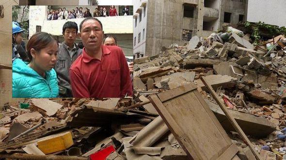Цзуньи: супруги спасли более 60 человек перед обрушением семиэтажного здания