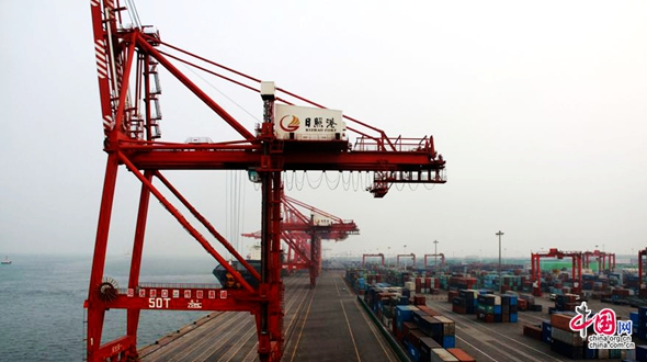 Порт Жичжао в объективе корреспондента веб-сайта «Чжунгован»