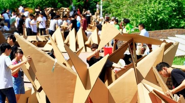 Креативные образы на архитектурном конкурсе в Харбинском политехническом университете привлекли особое внимание