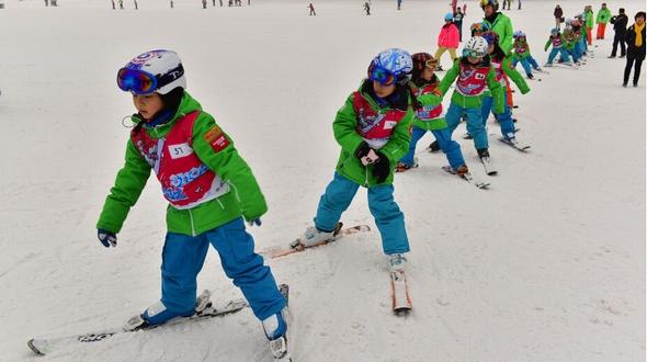 Зимние виды спорта любят во всем Китае: с севера до юга страны