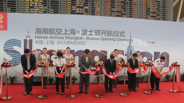 Появление новых авиарейсов из Китая в США совпало с малым пиком пассажирских перевозок на праздник Дуаньу