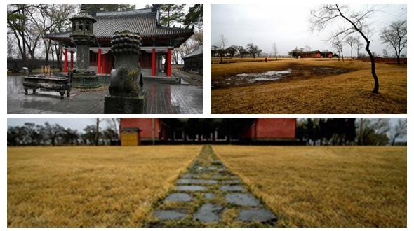 Руины верхней столицы Шанцзин государства Бохай в округе Муданьцзян