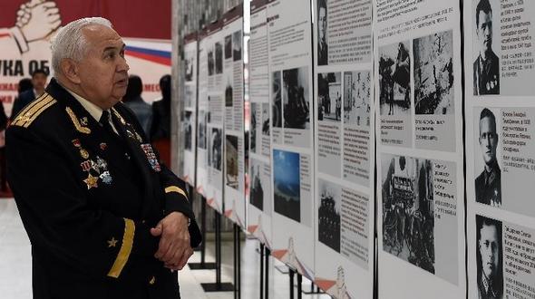 В Москве состоялась фотовыставка 'Рука об руку -- фотографии совместного сопротивления Китая и России Фашистам'