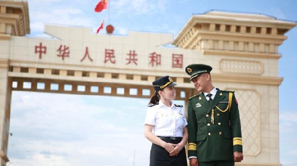 Романтическая свадьба на китайско-казахстанской границе
