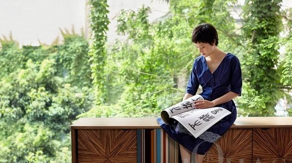 Популярная актриса Сунь Ли попала на обложку Lohas в образе лесной нимфы