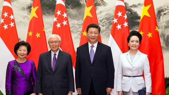 Си Цзиньпин провел переговоры с президентом Сингапура Тони Таном