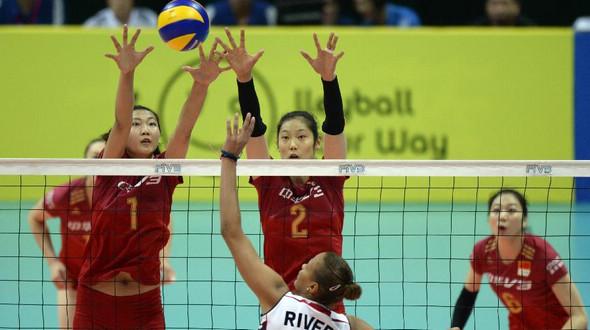 Китайская сборная взяла хороший старт на Мировом Гран-при по волейболу среди женщин-2015