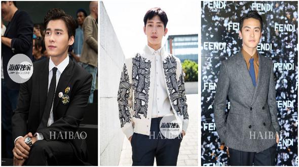 Красивые звезды на Неделе мужской одежды